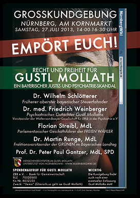 Gustl-Mollath-Demo-Plakat